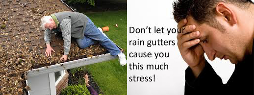 stressed out homeowner, Gutterco - Columbus Ohio Gutters