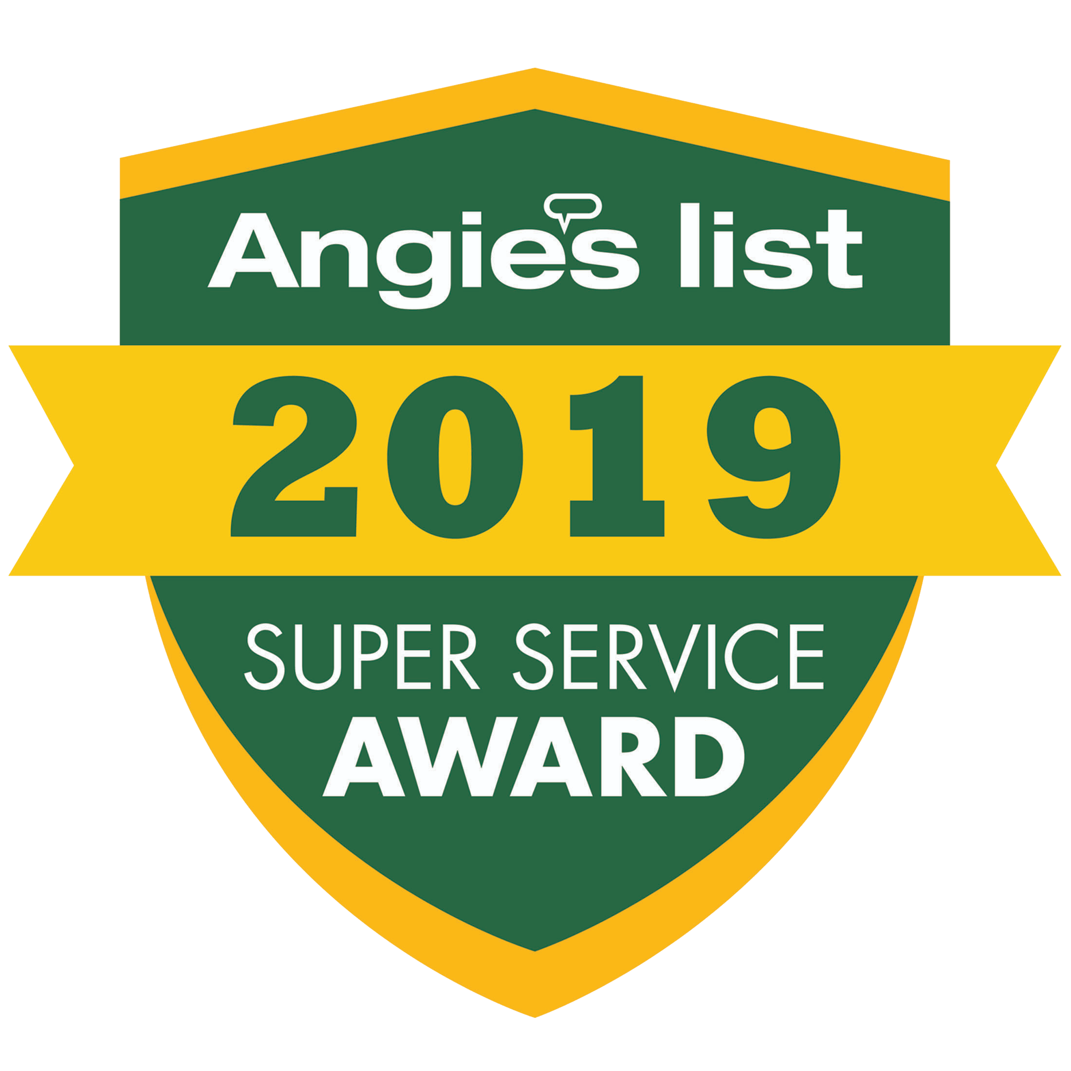 Angies List Award 2019